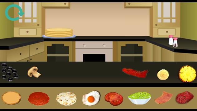 Pizza cooking games apk screenshot