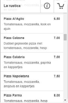 Pizzeria La Rustica screenshot 1