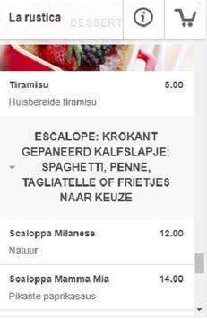Pizzeria La Rustica screenshot 3