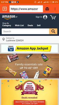 Pocket Mini Browser screenshot 3