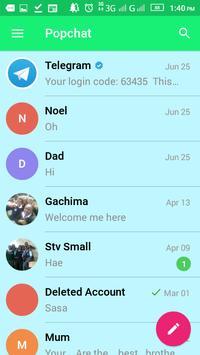 Hichat apk screenshot