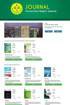 Portal Jurnal Online UNJ apk screenshot