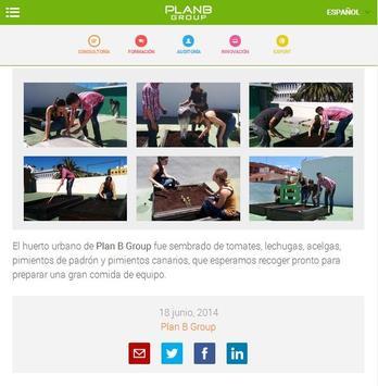 Plan B Group Noticias apk screenshot