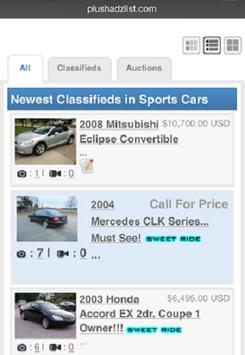 PlushAdzList Classifieds apk screenshot