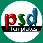 PSD Downloads icon