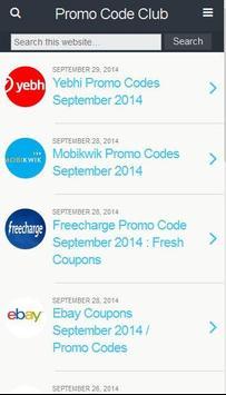 Recharge Coupons & Offers apk screenshot