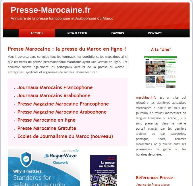 Presse Marocaine En Français الجريدة المغربية For Android