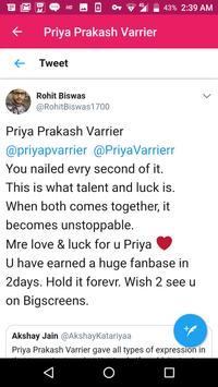 Priya Prakash Varrier screenshot 4