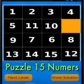 Puzzle 15 Numers icon
