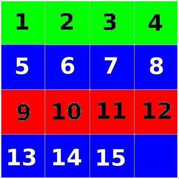 Puzzle 15 Numers apk screenshot