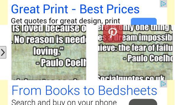 Quotes of Paulo Coelho apk screenshot