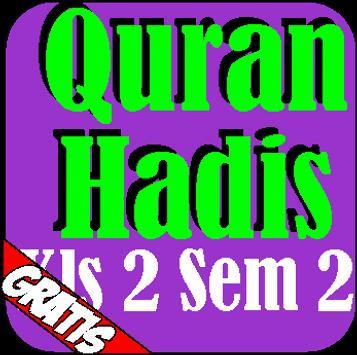 Quran Hadis Kelas 2 Semester 2 poster