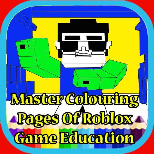 Printable Roblox Games Coloring Pages For Android Apk Download