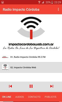 Radio Impacto Cordoba screenshot 1