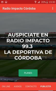 Radio Impacto Cordoba screenshot 4