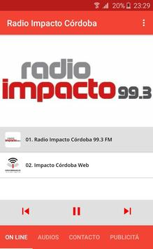 Radio Impacto Cordoba screenshot 6