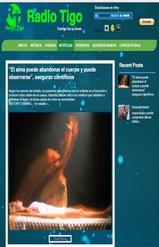 RADIO TIGO SITIOWEB screenshot 4