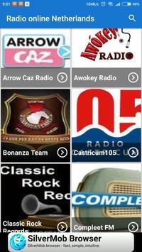 Radio online Netherlands screenshot 2