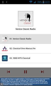 Radio classical music poster
