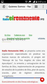 Radio el remanente online screenshot 1
