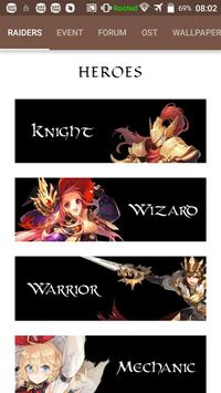 Guide for King's Raid poster