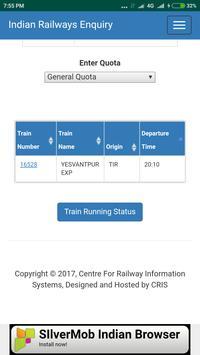 Railapp screenshot 2