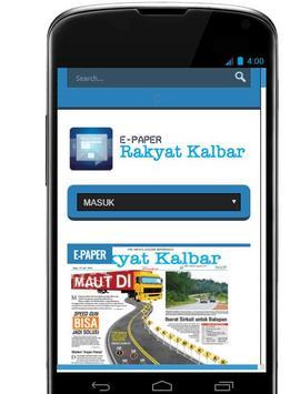 Rakyat Kalbar E-Paper poster