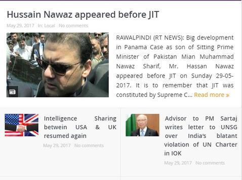 Rawalpindi Times screenshot 1