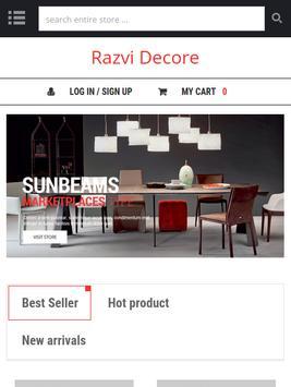 Razvi Decore apk screenshot