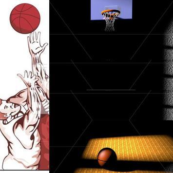Real basketball madness poster