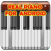 Digital Real Piano - The best piano for Android icon