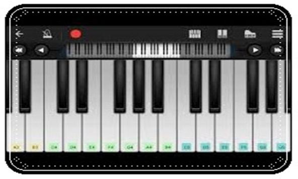 Digital Real Piano - The best piano for Android screenshot 1