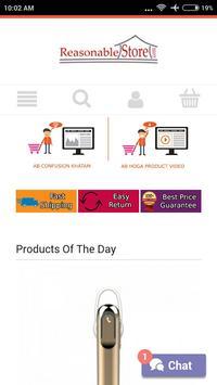 Reasonable Store Shopping screenshot 1