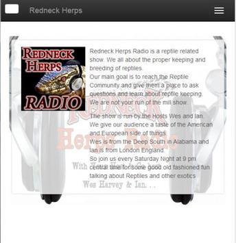 Redneck Herps Radio poster