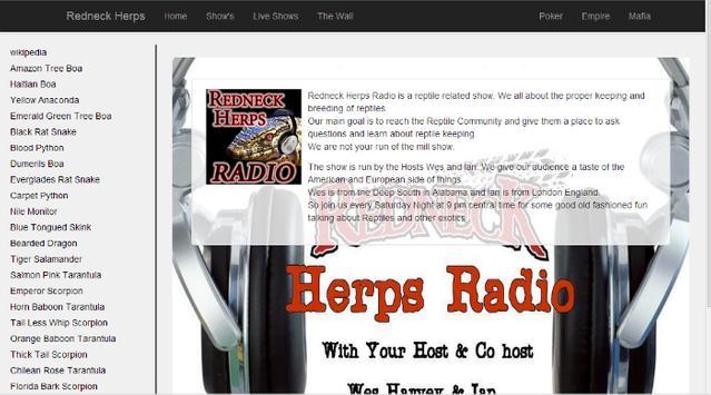 Redneck Herps Radio apk screenshot