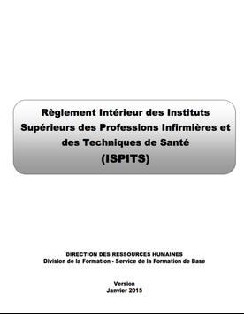 Règlement Intérieur ISPITS apk screenshot