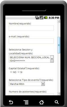 Reportes STRM Sec Foraneas screenshot 1