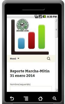 Reportes STRM Sec Foraneas screenshot 2