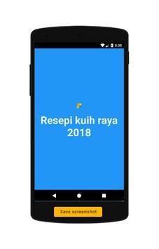 Resepi kuih raya 2018 screenshot 2