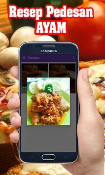 Resep pedesan ayam apk screenshot