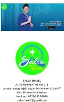 SALSA TOUR TRAVEL screenshot 2