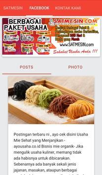 SATMESIN.COM - MESIN USAHA apk screenshot