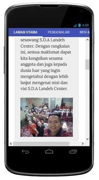 SDA Landeh Center screenshot 1