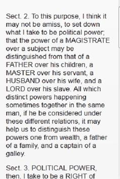 SECOND TREATISE OF GOVERNMENT screenshot 2