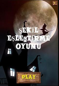 ŞEKİL EŞLEŞTİRME OYUNU poster
