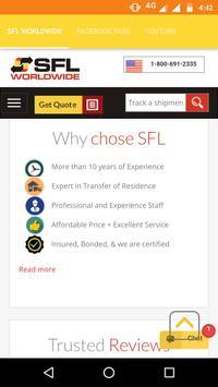 SFL WORLDWIDE apk screenshot
