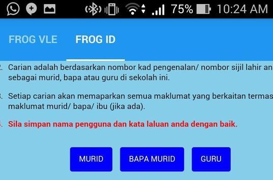Frog VLE SK Rawang apk screenshot