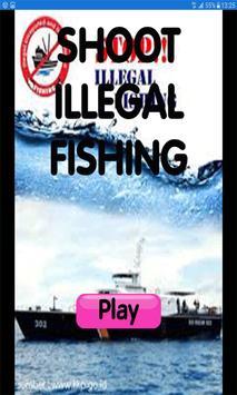 Tembak perikanan illegal poster
