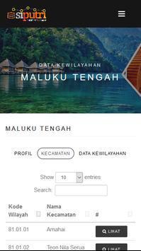 PUTRI Pemerintahan Maluku poster