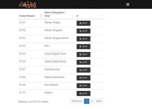 PUTRI Pemerintahan Maluku screenshot 5